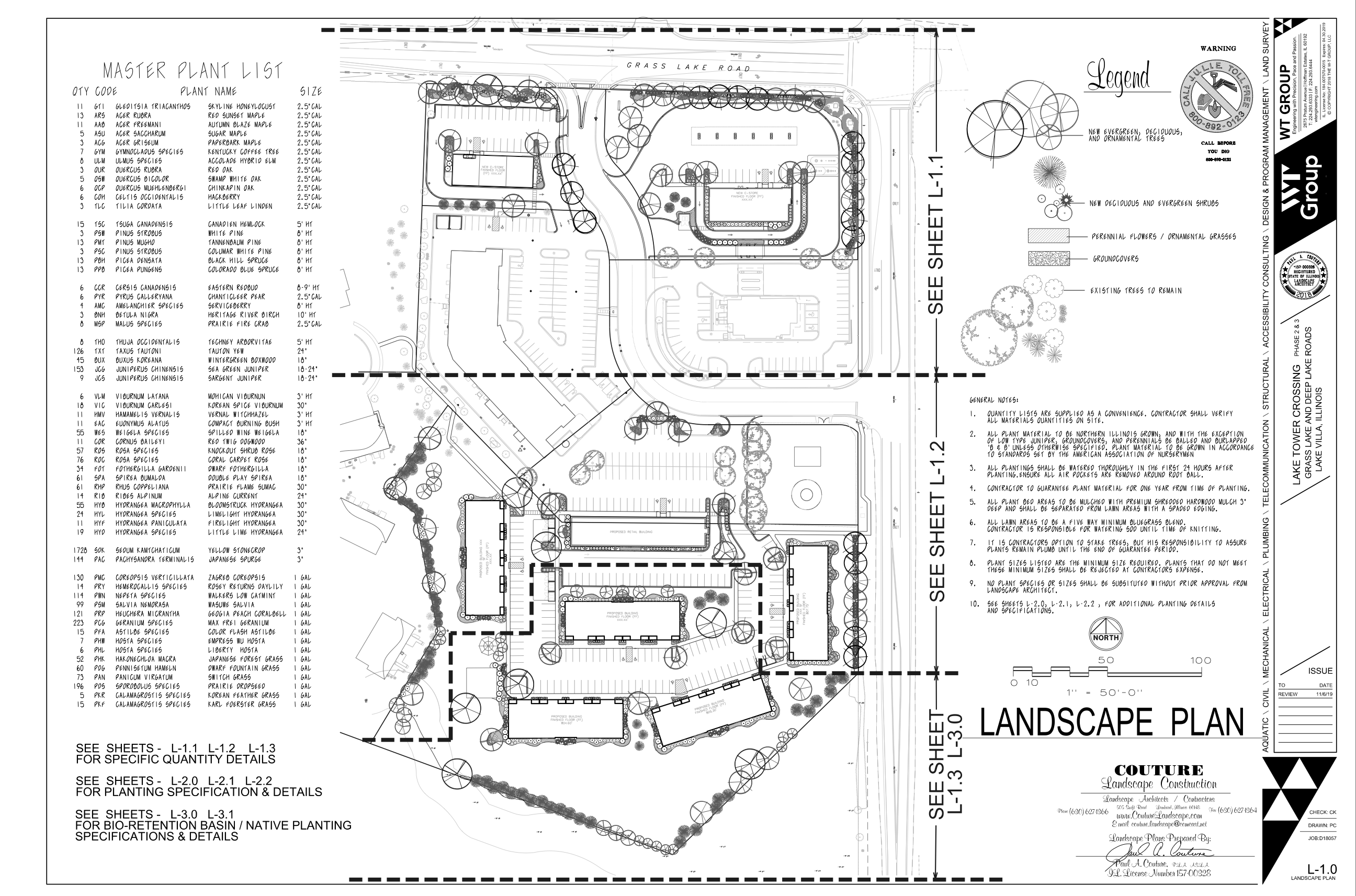 Tower Drive Development- Landscape Plans